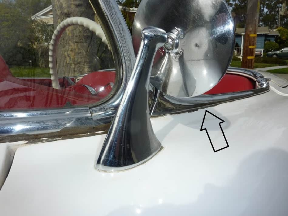 confirming original paint collector car