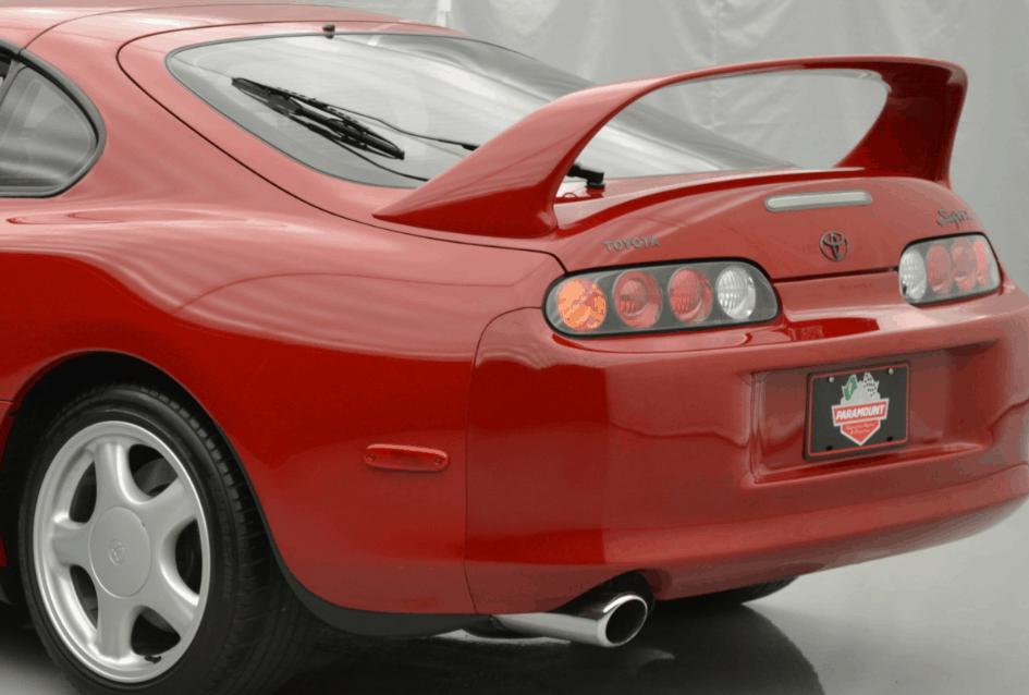 supra rear bumper paint mismatch