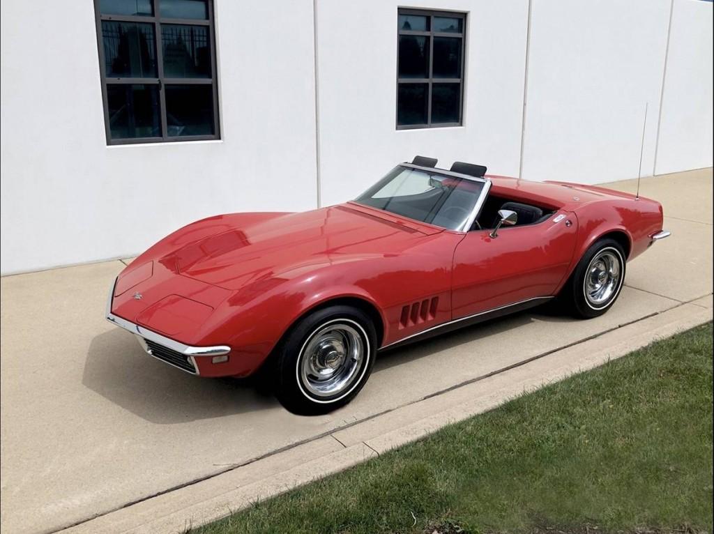 1968 Chevrolet Corvette convertible for sale 1