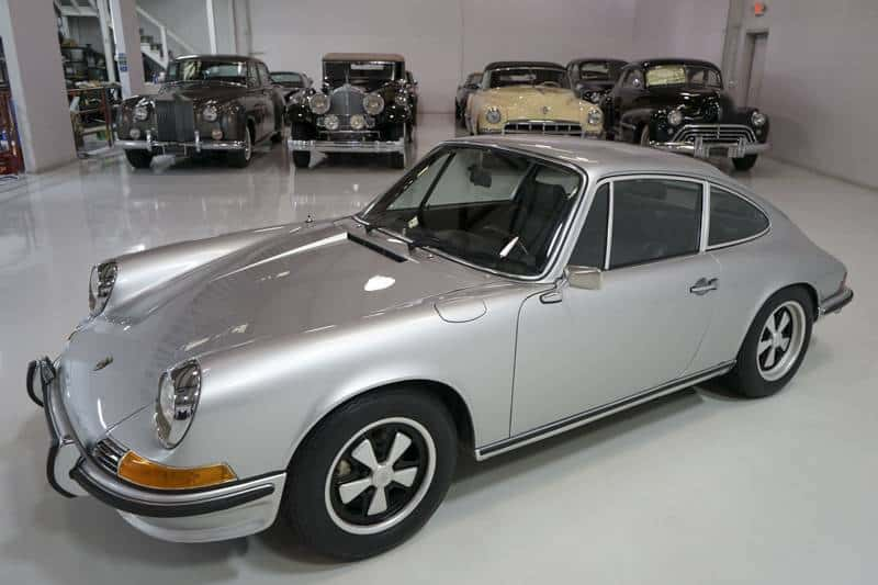 1972 Porsche 911s for sale frontal