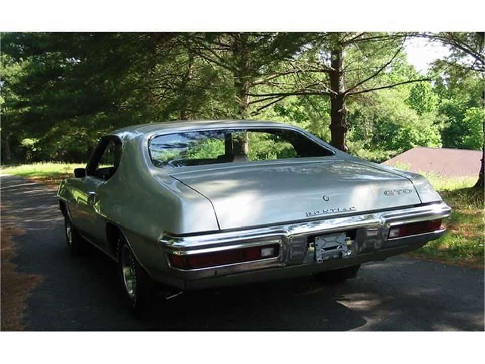1972 pontiac gto for sale 5