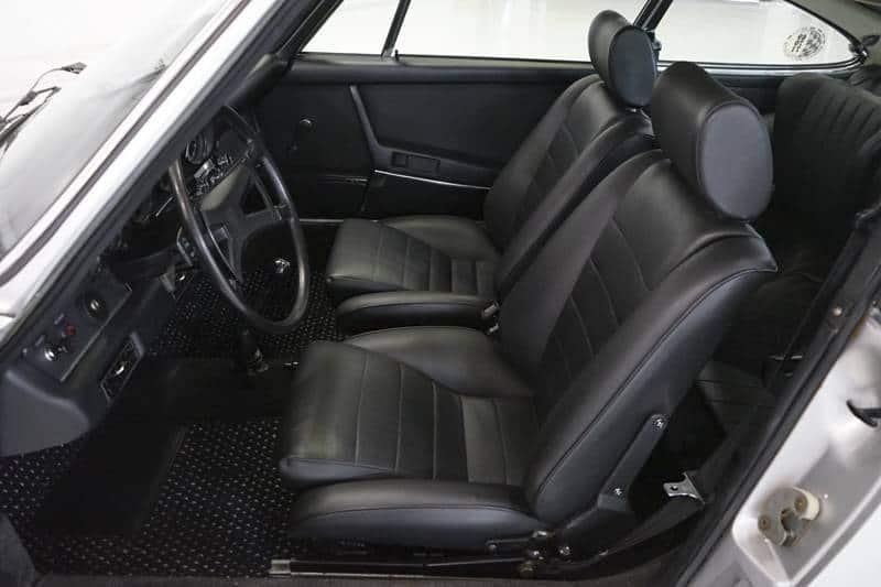 1972 Porsche 911s for sale interior