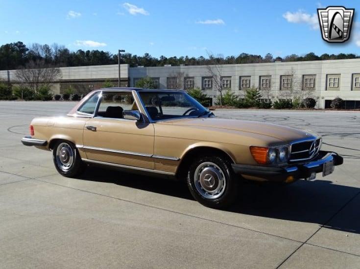 1977 mercedes benz 450sl for sale