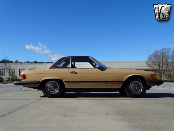 1977 mercedes benz 450sl for sale side