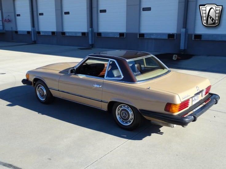 1977 mercedes benz 450sl for sale rear