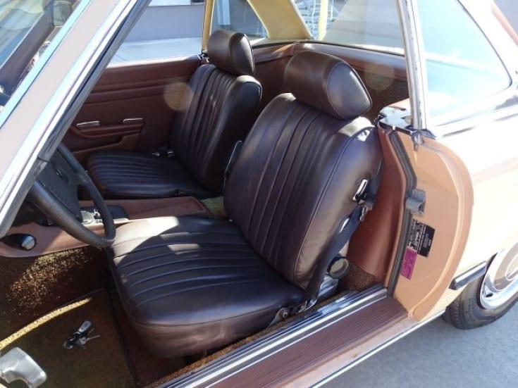 1977 mercedes benz 450sl for sale seats