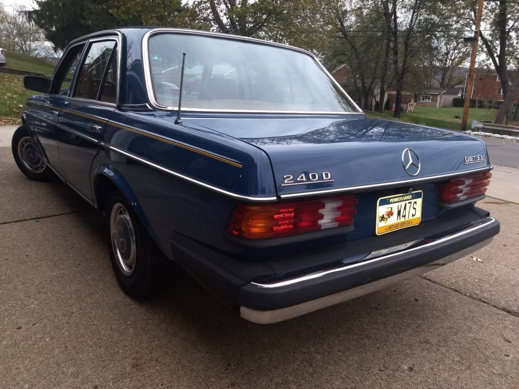 1980 Mercedes Benz 240D for sale 3