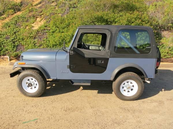 1982 jeep cj7 for sale 1