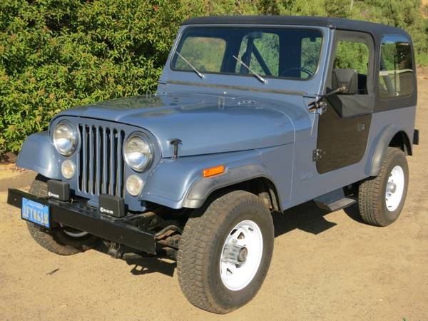 1982 jeep cj7 for sale 2