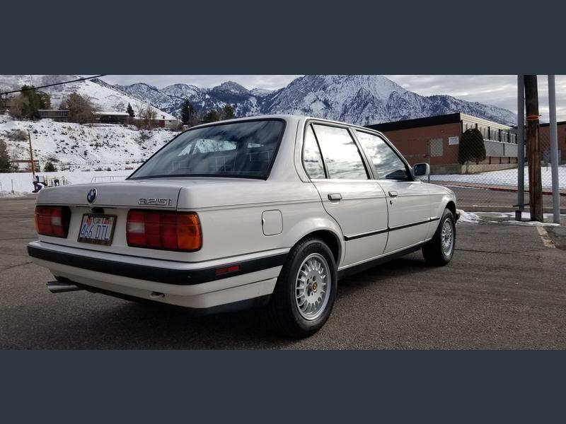 1990 bmw 325i e30 for sale rear