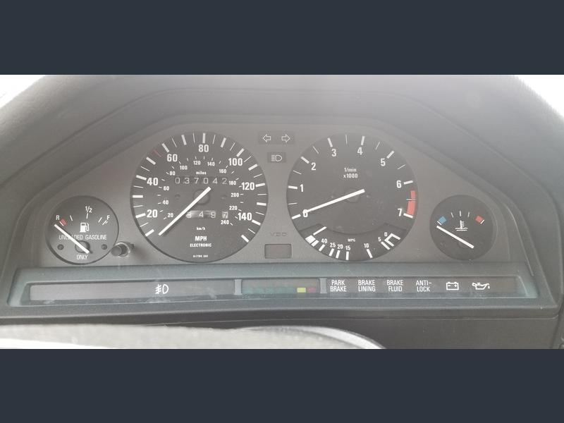 1990 bmw 325i e30 for sale odometer