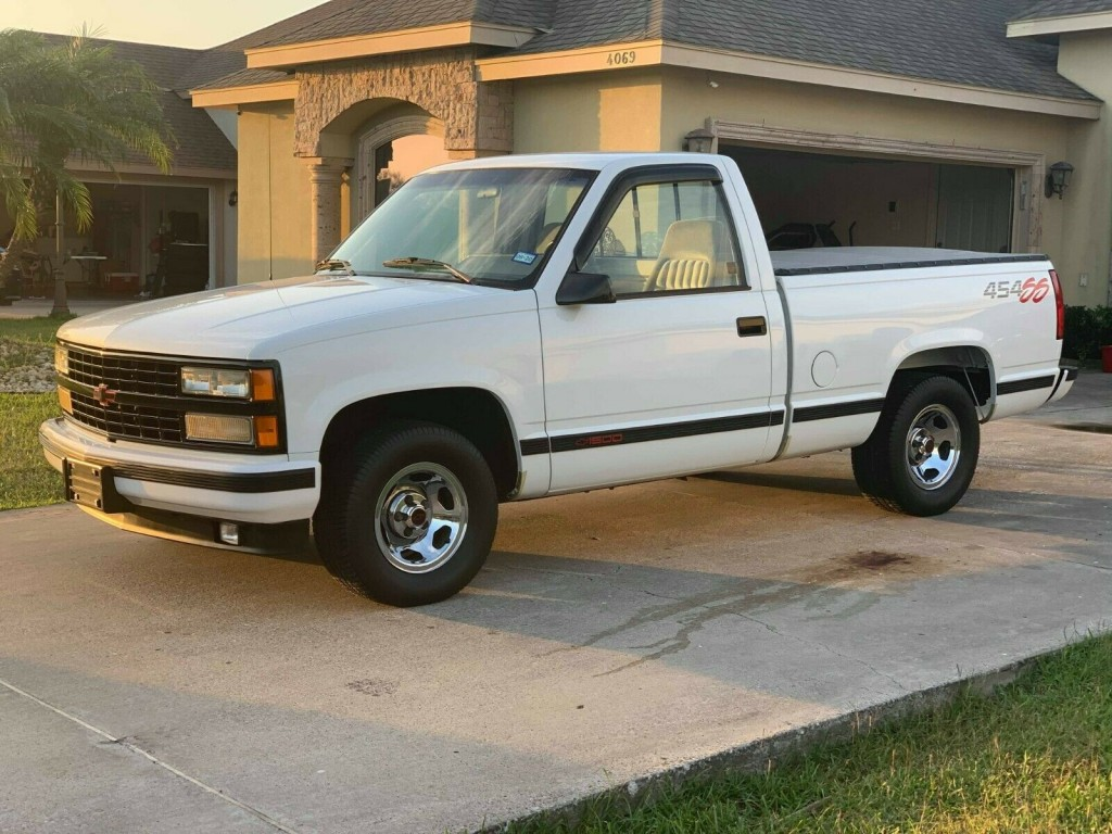 1992 chevrolet 454 ss truck for sale