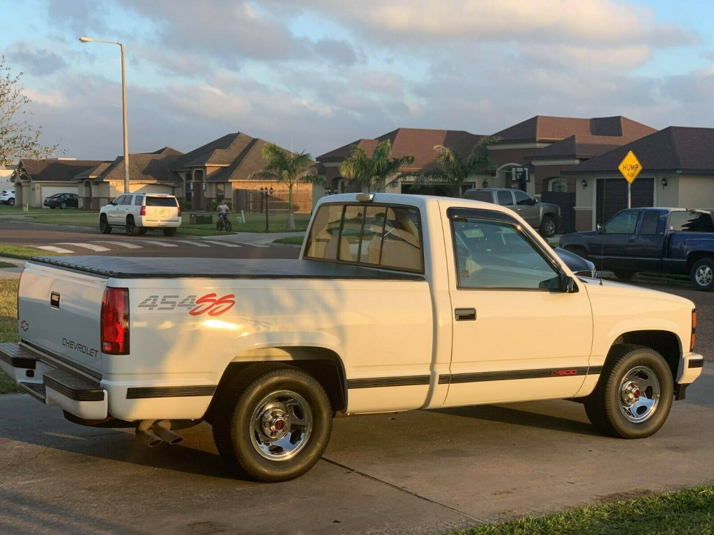1992 chevrolet 454 ss truck for sale rear