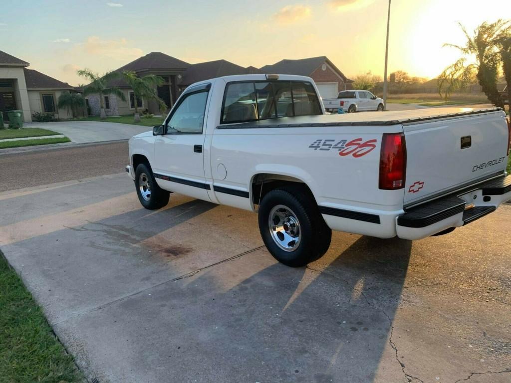 1992 chevrolet 454 ss truck for sale quarter