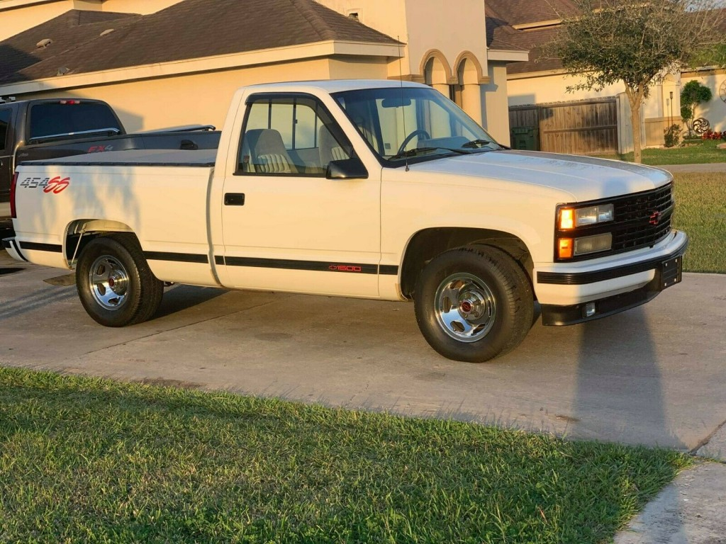 1992 chevrolet 454 ss truck for sale front