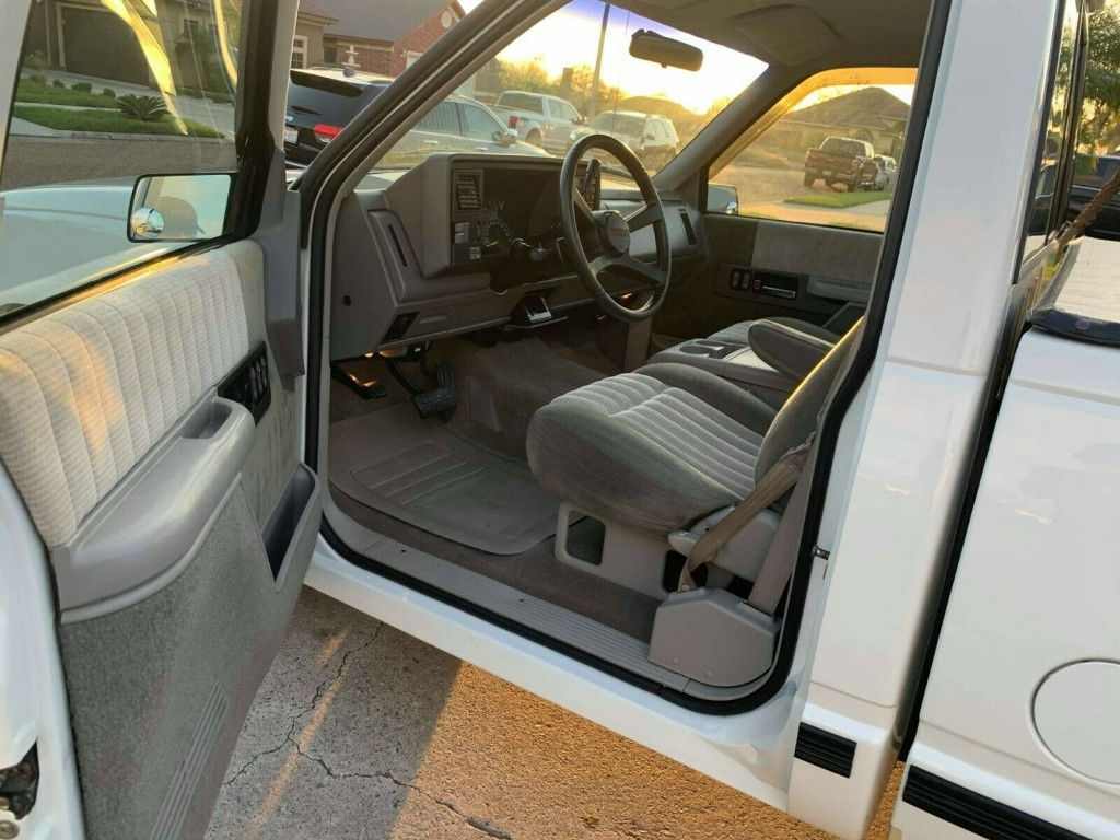 1992 chevrolet 454 ss truck for sale interior