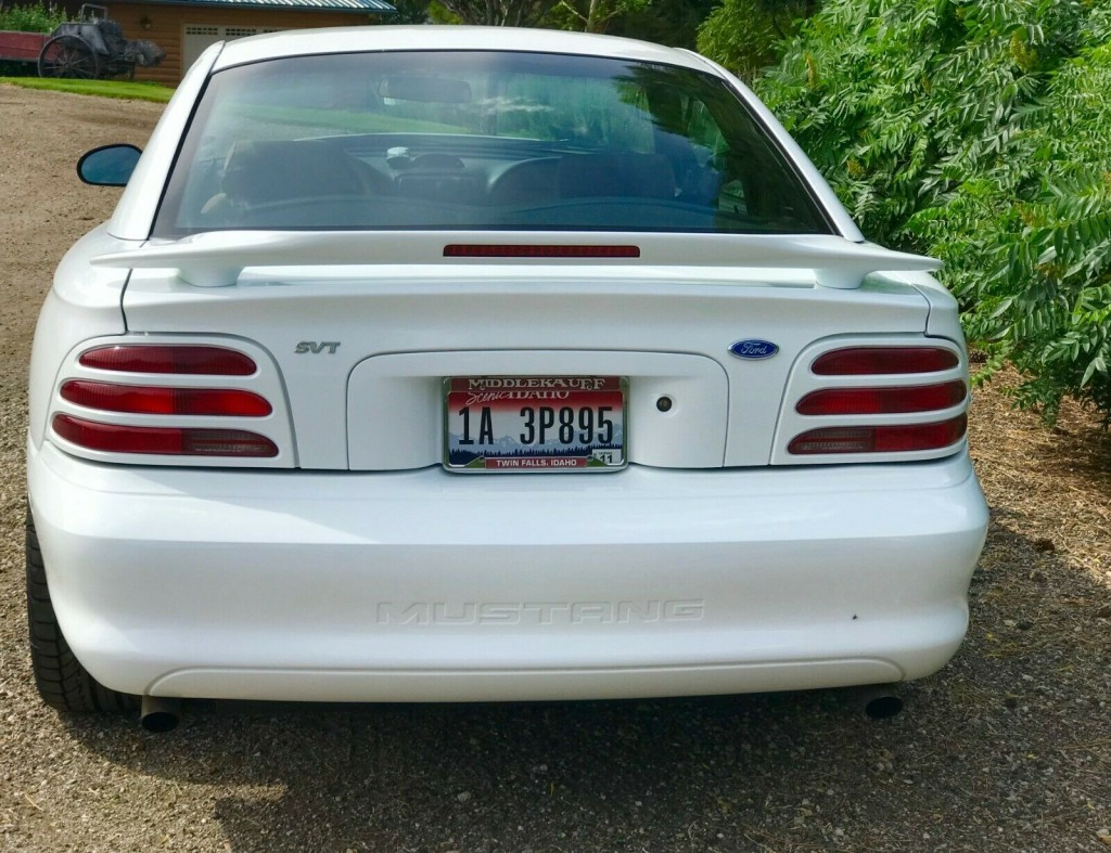 1995 ford Mustang Cobra R featured for sale rear