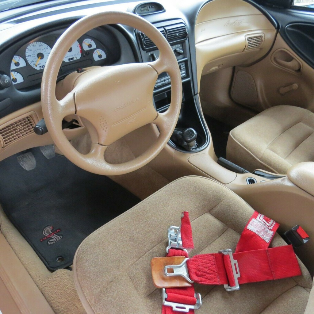 1995 ford Mustang Cobra R featured for sale dash