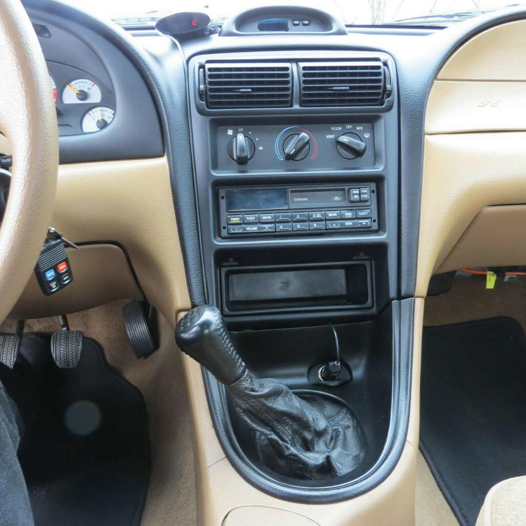 1995 ford Mustang Cobra R featured for sale interior