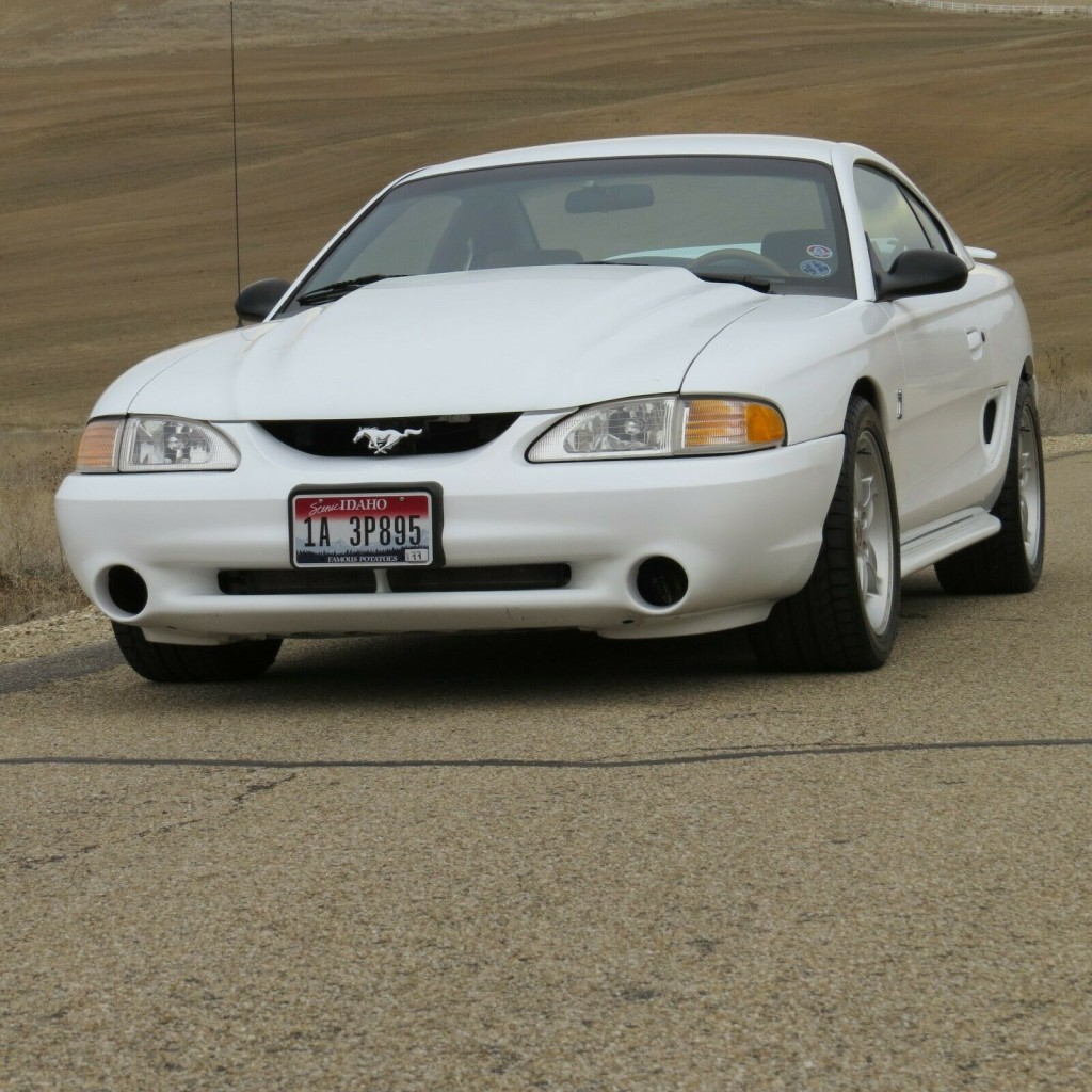 1995 ford Mustang Cobra R featured for sale pose