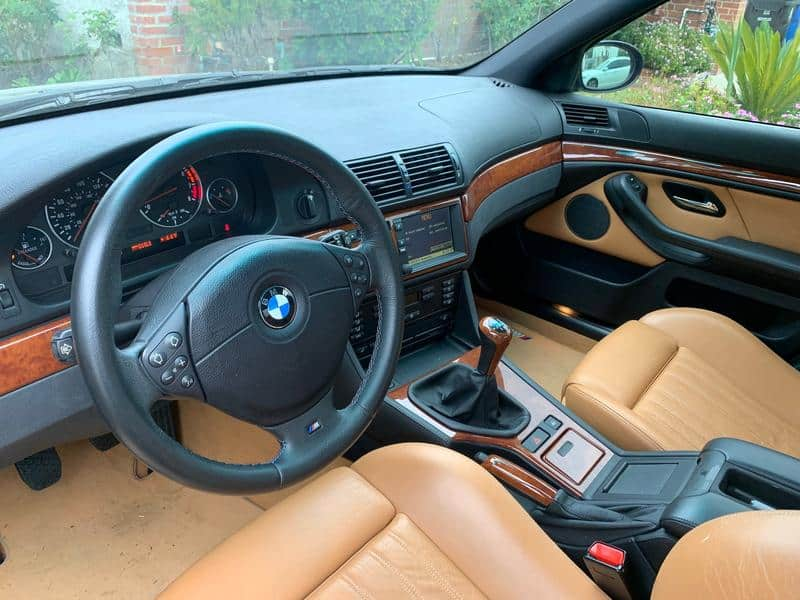 2000 bmw m5 E39 for sale interior