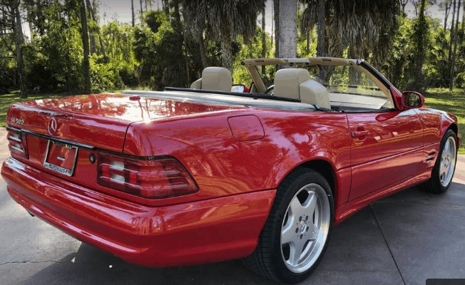 2001 mercedes benz sl500 for sale 1