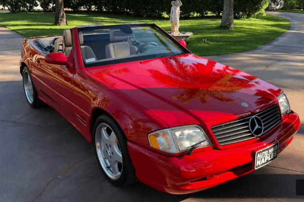 2001 mercedes benz sl500 for sale 2