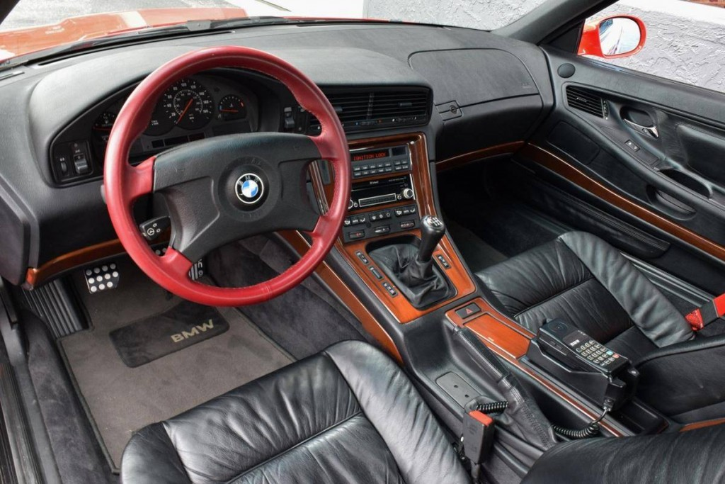 bmw 850csi for sale dash