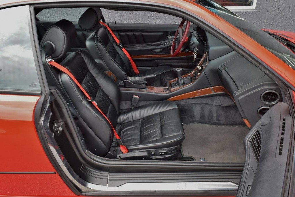 bmw 850csi for sale rear shot interior