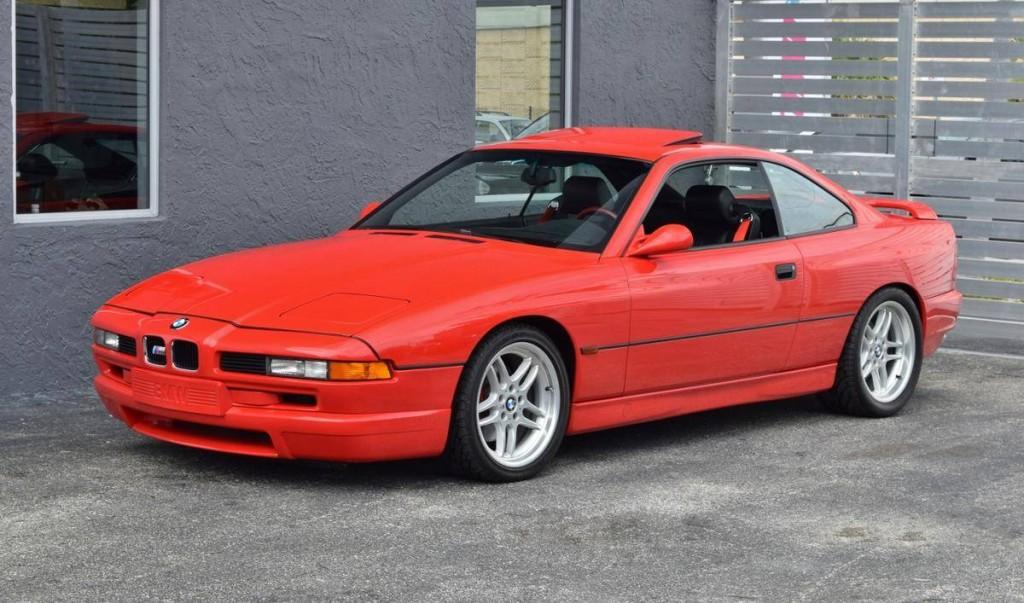 bmw 850csi for sale side