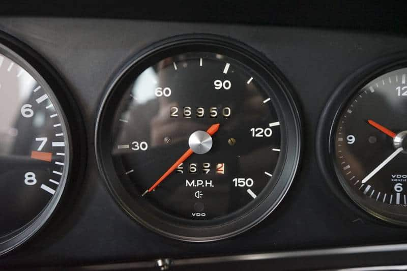 1972 Porsche 911s for sale odometer