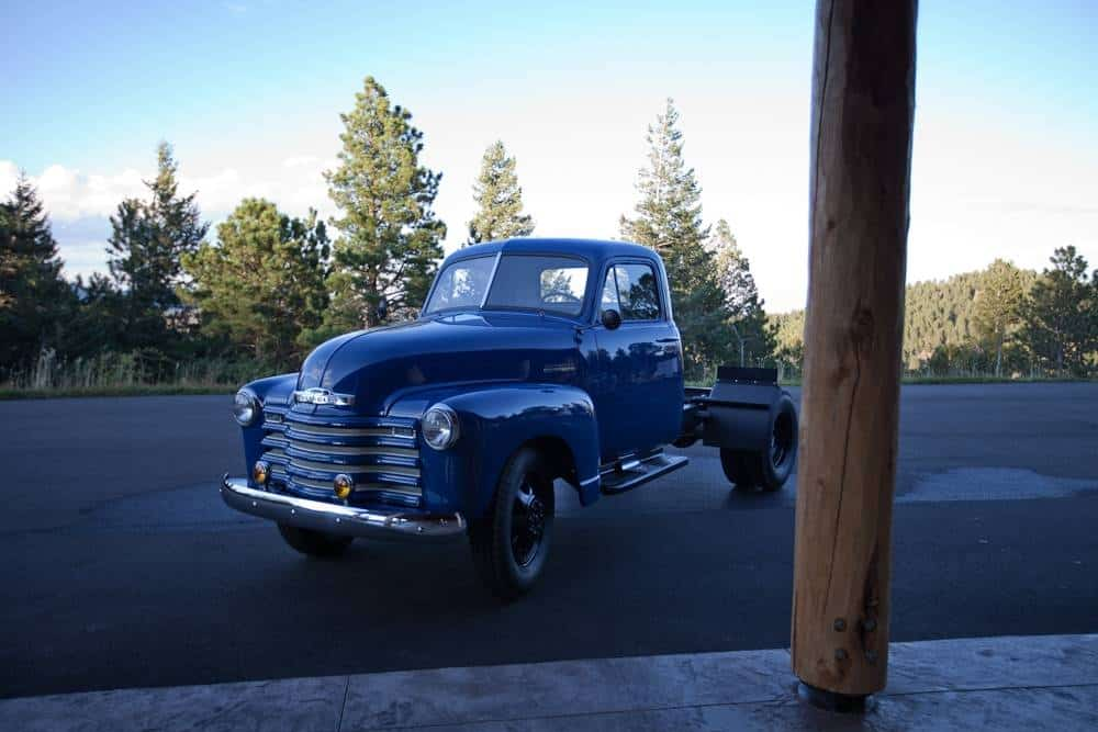 1951 chevrolet 3800 1 ton dually flatbed for sale 2