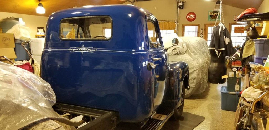 1951 chevrolet 3800 1 ton dually flatbed for sale 5