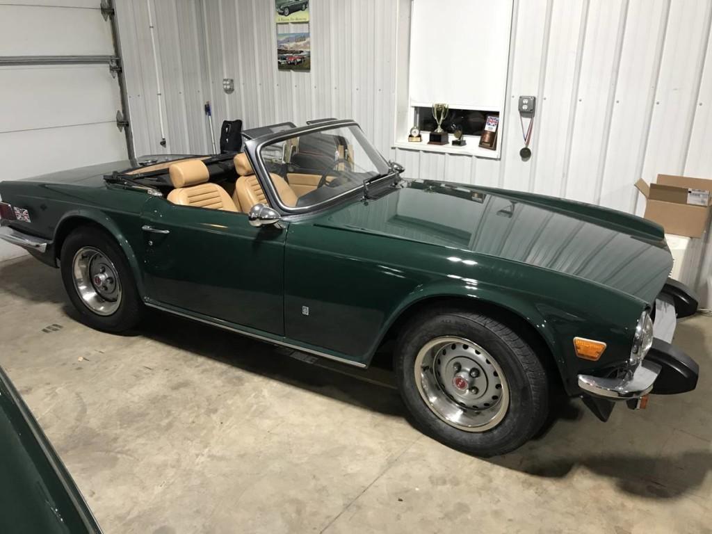 1976 triumph tr6 for sale 1