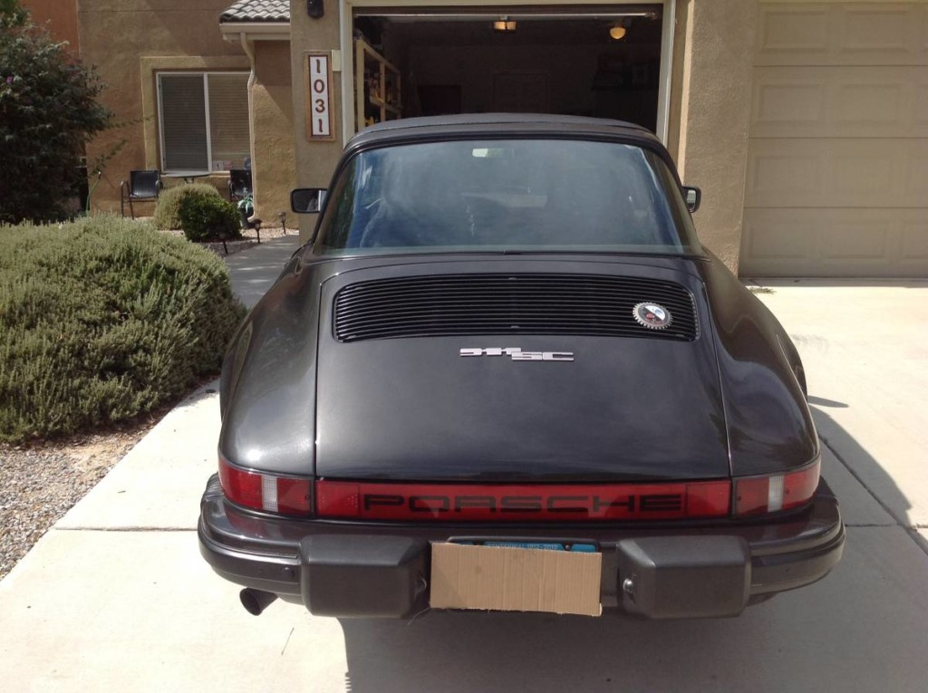 1982 porsche 911sc targa for sale 4