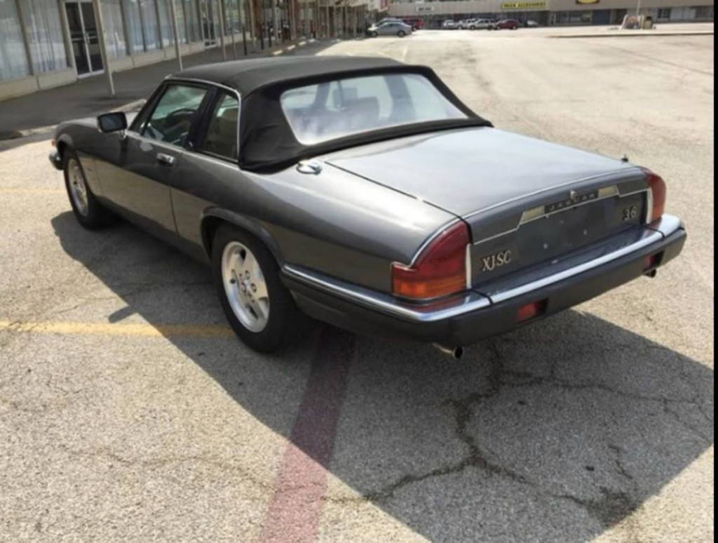 1985 Jaguar xjsc convertible for sale 3