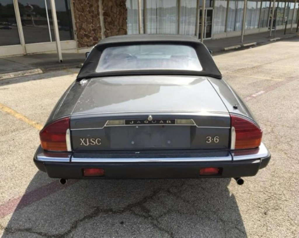 1985 Jaguar xjsc convertible for sale 4