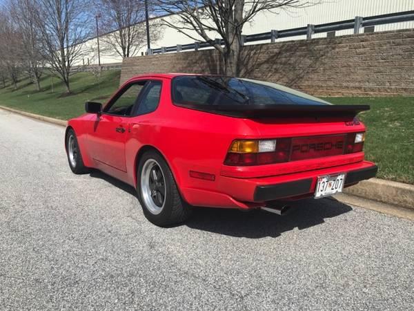 1986 Porsche 944 Turbo for sale 1