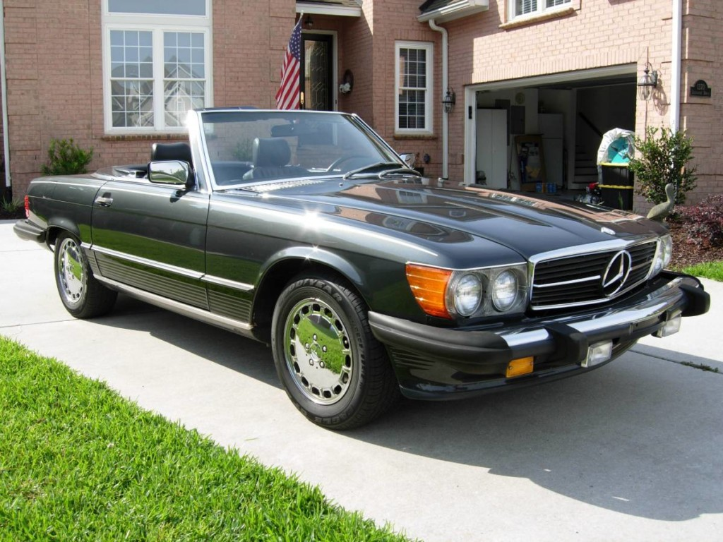 1989 Mercedes benz 560sl for sale 1