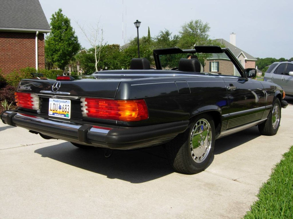 1989 Mercedes benz 560sl for sale 6