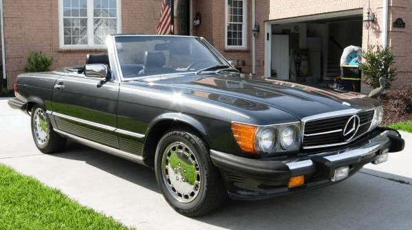 1989 Mercedes Benz 560SL   New Old Cars