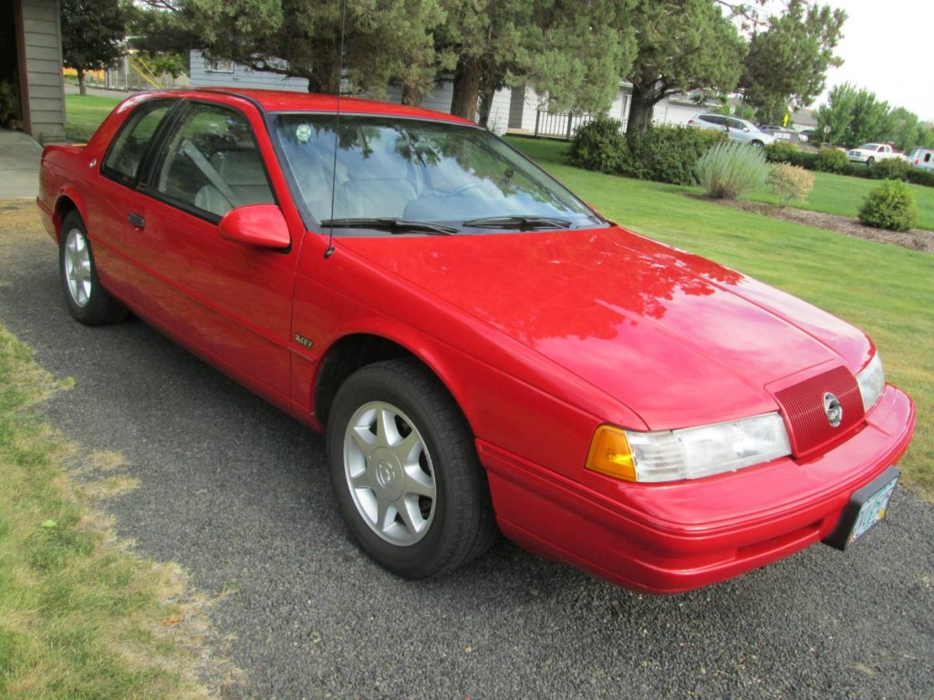 1989 mercury cougar xr7 for sale 2