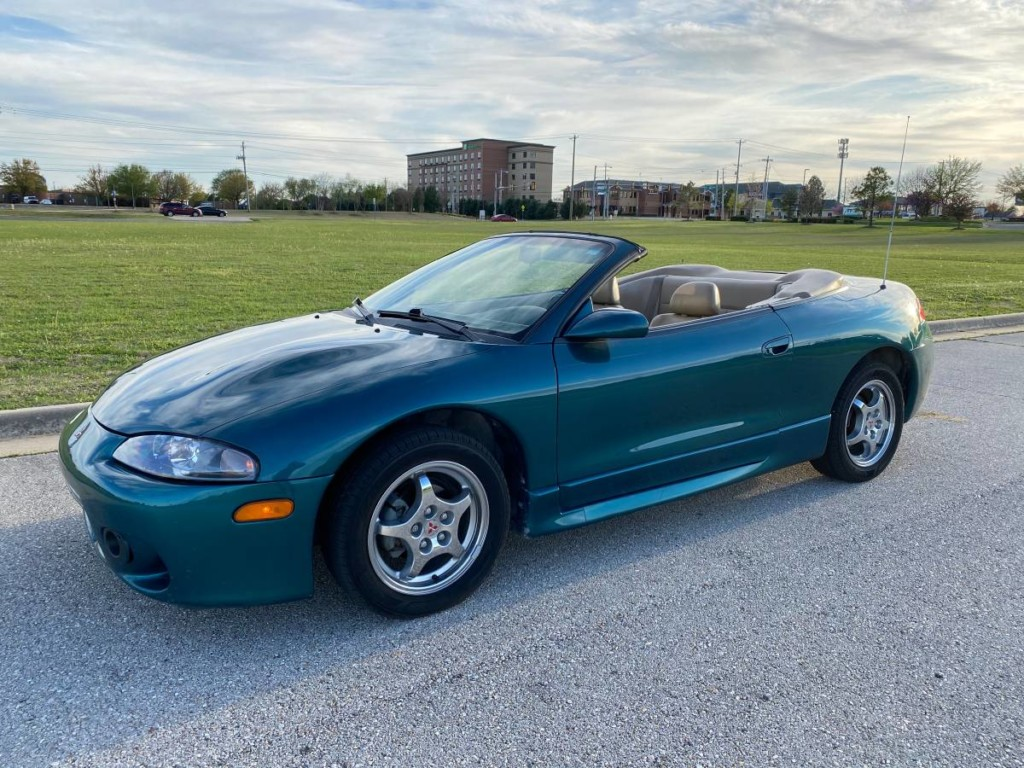 1997 mitsubishi eclipse gs t spyder new old cars new old cars