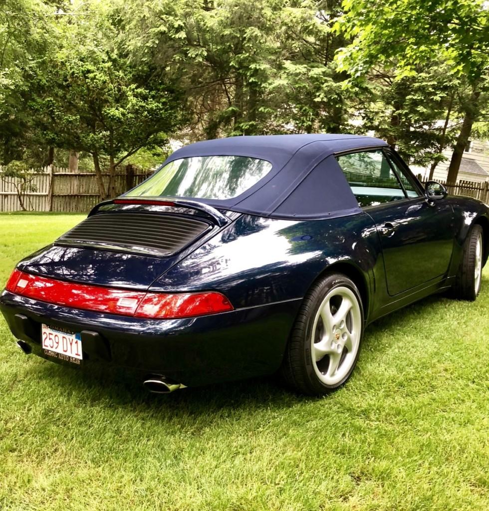1998 porsche 911 993 cabriolet for sale 1
