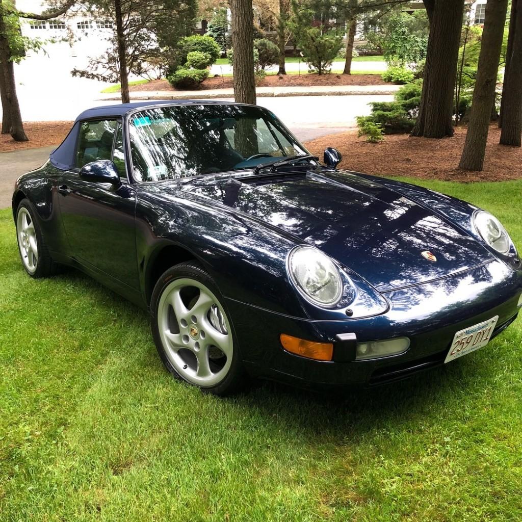1998 porsche 911 993 cabriolet for sale 2