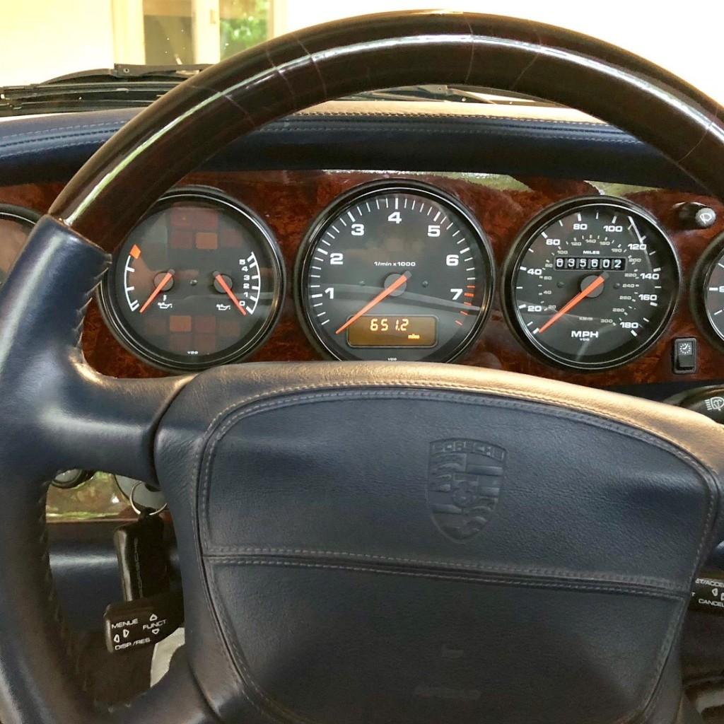 1998 porsche 911 993 cabriolet for sale 6