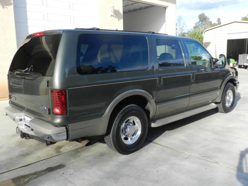 2001 Ford Excursion powerstroke diesel for sale 5