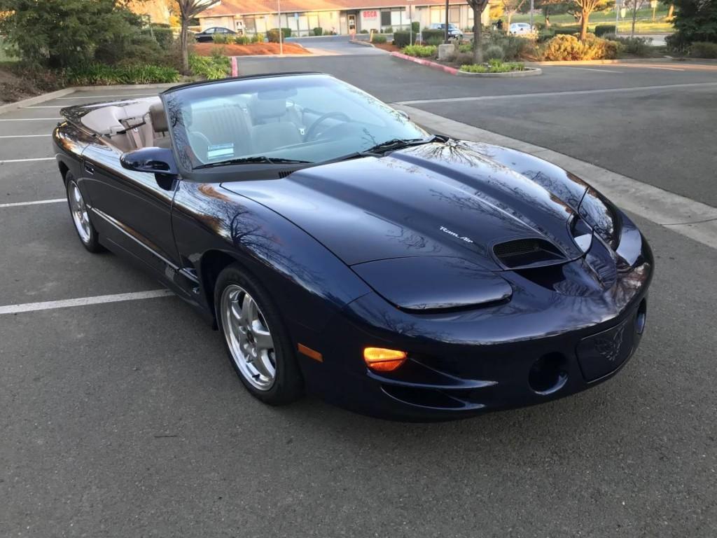 2001 pontiac firebird trans am ws6 convertible for sale 1
