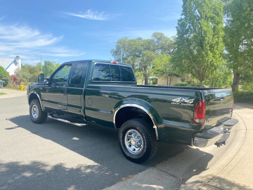 2002 Ford F-250 SuperDuty turbodiesel powerstroke for sale 3