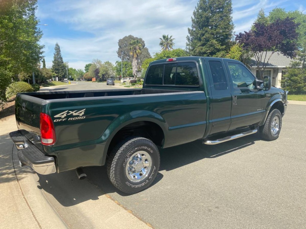 2002 Ford F-250 SuperDuty turbodiesel powerstroke for sale 2